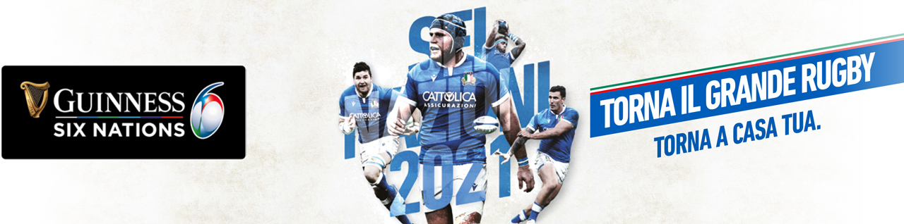 Banner Six Nations 2021